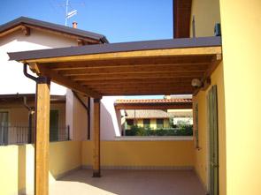 Pergole e pensiline in legno brescia edil garden for Lamellare prezzi